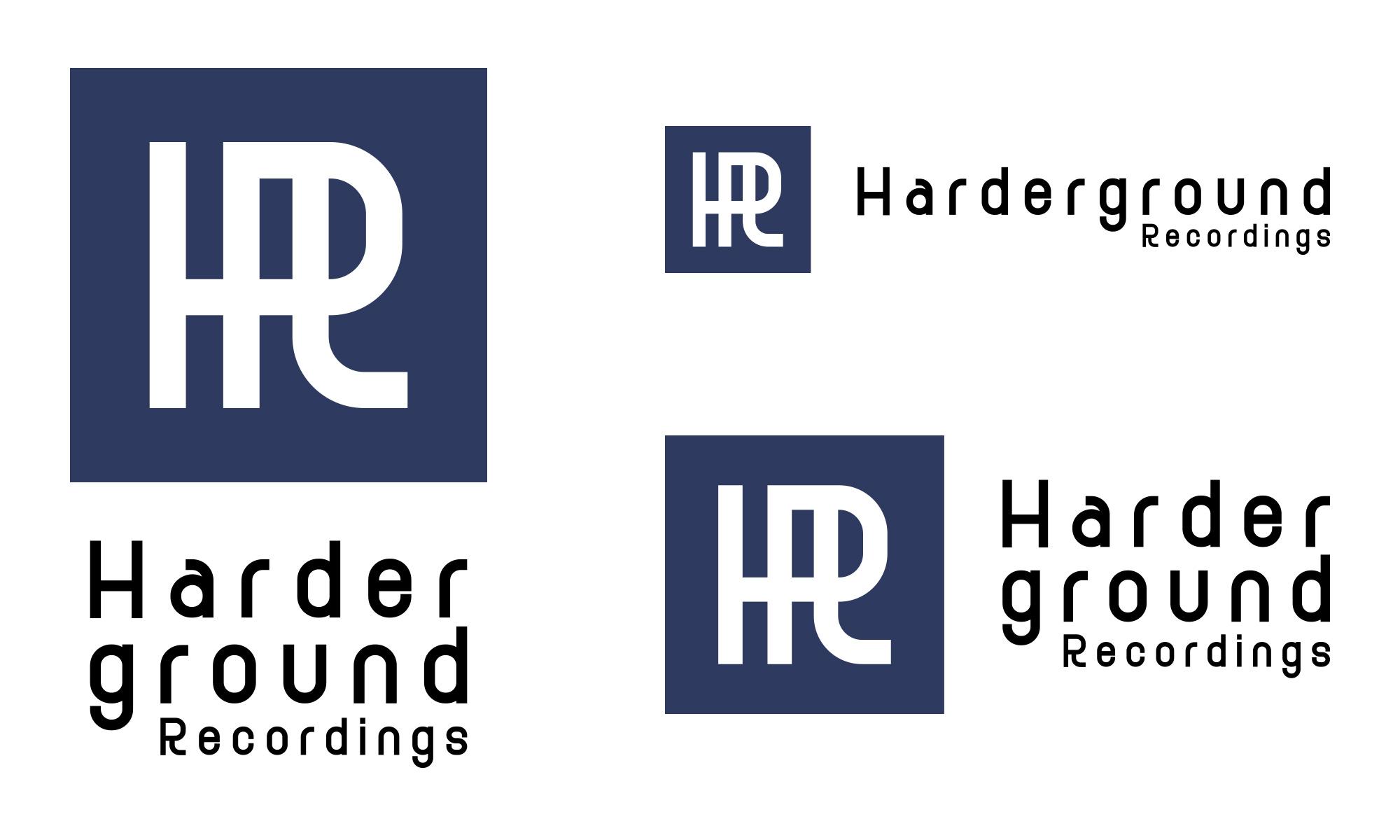Harderground Recordings Logo 2010