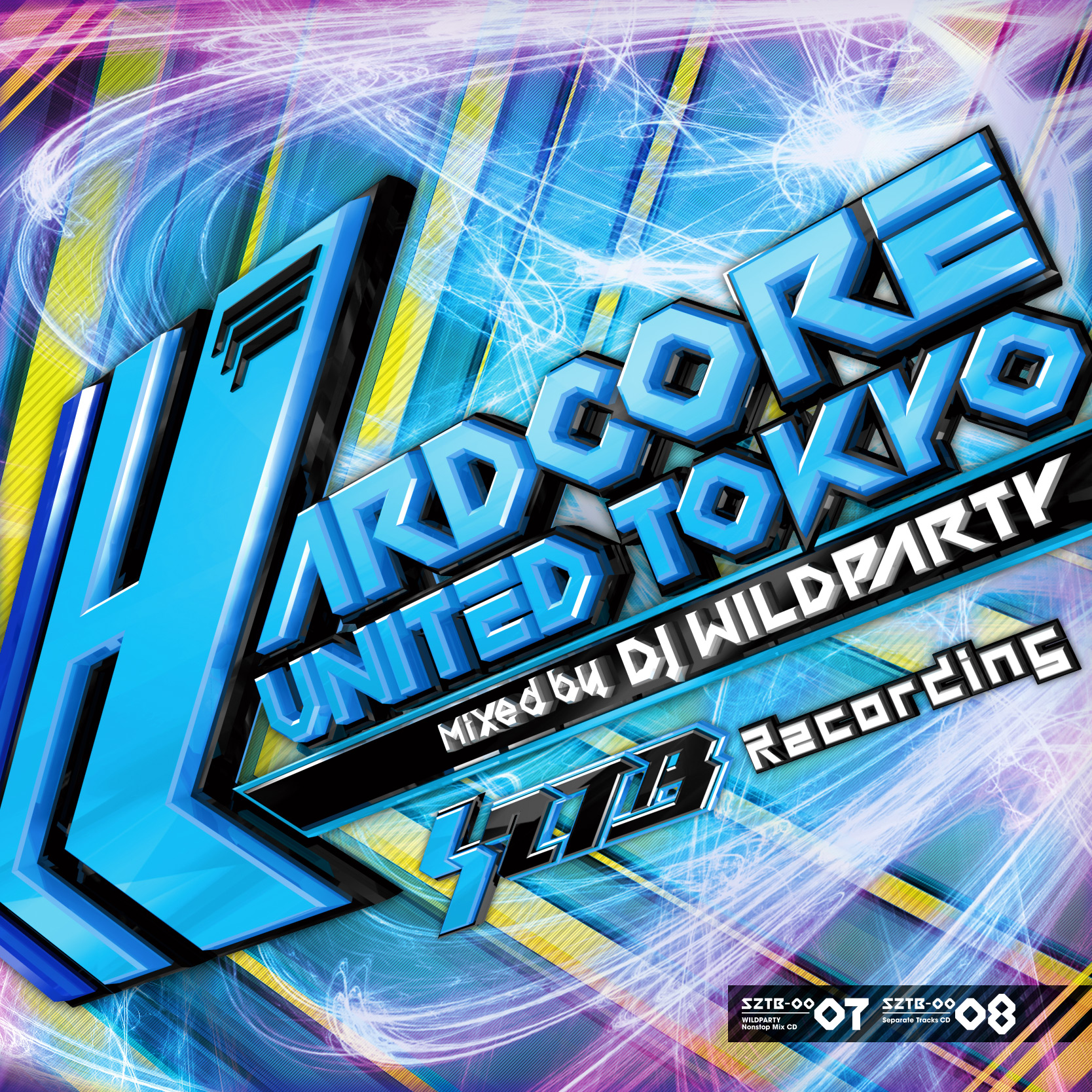 Hardcore United Tokyo Mixed by DJ WILDPARTY