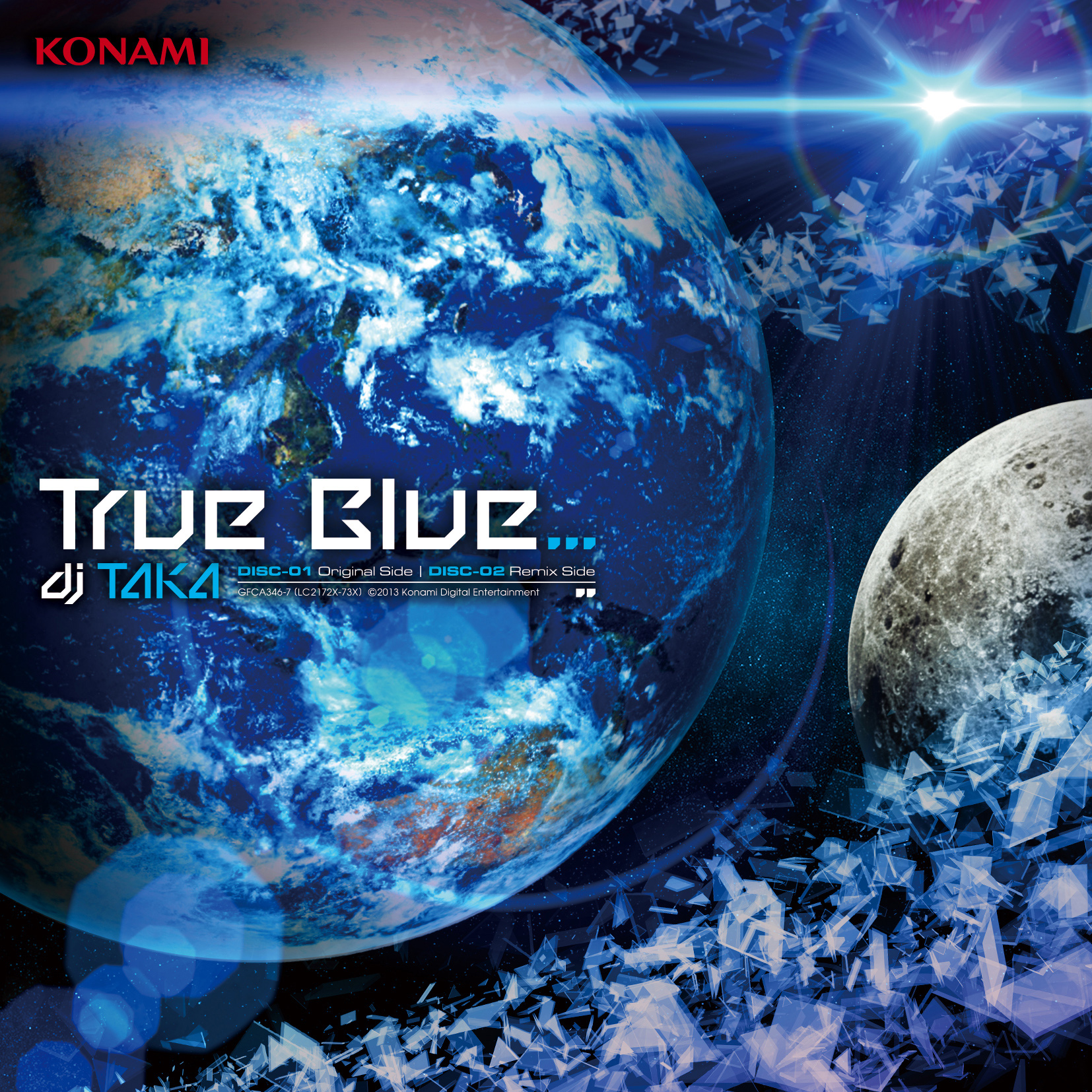 True Blue-dj TAKA通常盤